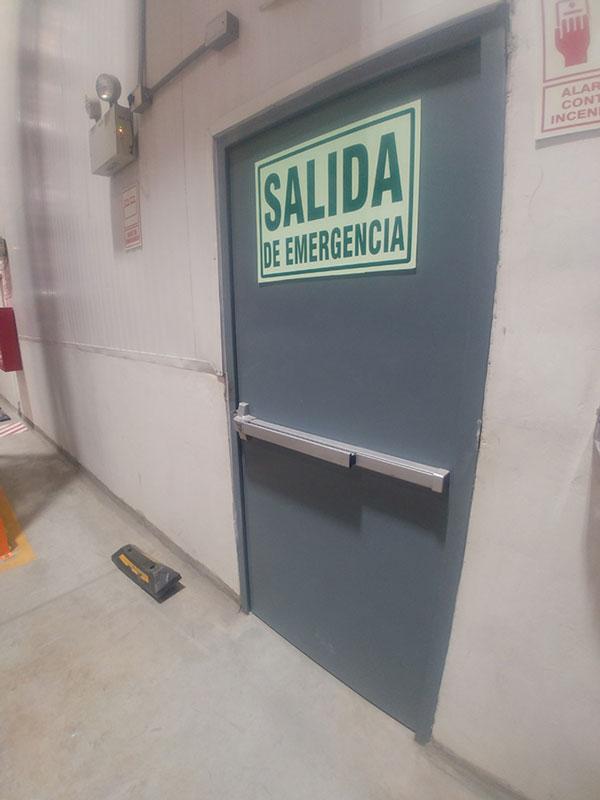 Instalación de puerta