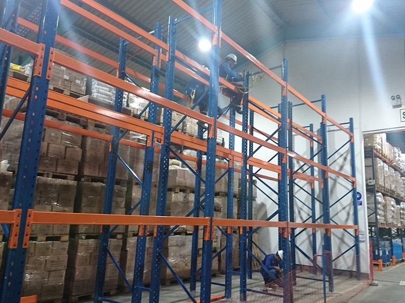 Instalación de rack