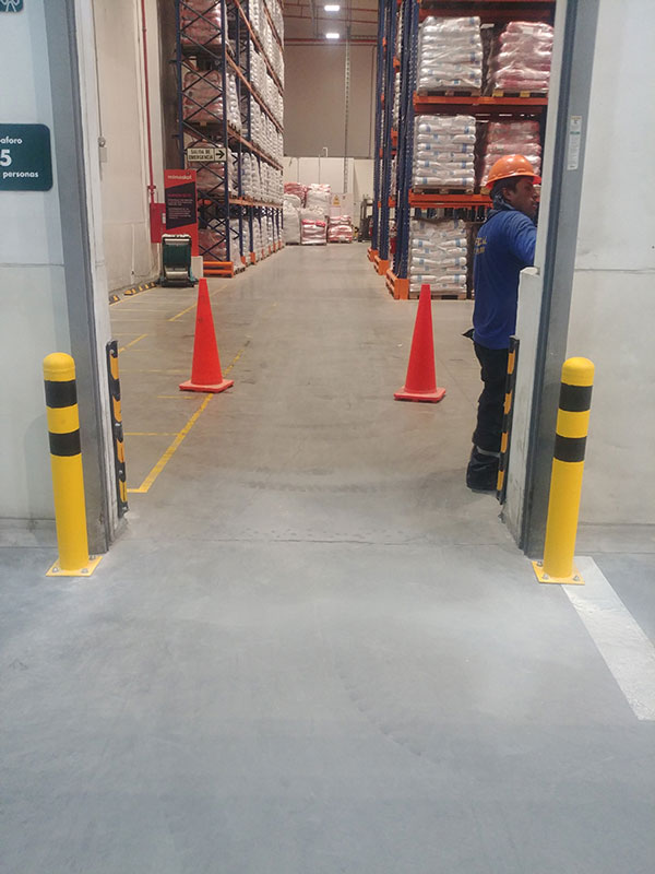 Instalación protectores de puerta