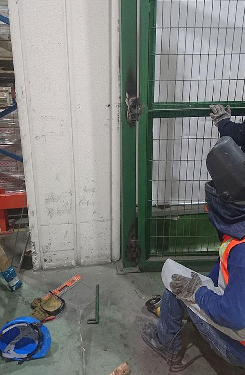 Reparación de puerta